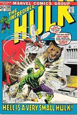 The Incredible Hulk Comic Book #154, Marvel Comics 1972 VERY FINE