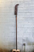 Antique British Scottish Halberd Pole Arm Naginata Not sword
