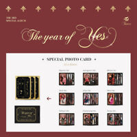 TWICE - THE 3RD SPECIAL ALBUM THE YEAR OF YES PHOTO CARD TZUYU MOMO MINA SANA