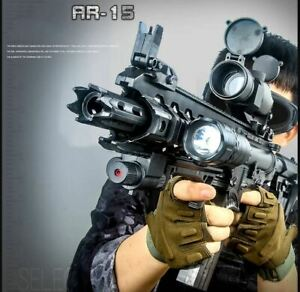 AR 15 Rifle Plastic Safe Gel Ball Gun Pistol Water Paintball Shooting Game Toys