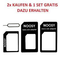 UNIVERSAL HANDY TABLET NANO MICRO SIM KARTEN ADAPTER SET NADEL KARTENLESER Z7