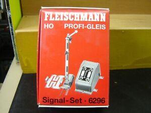 """Fleischmann HO 6296 Signal-Set mit Stellpult  """"Neu""""(325)"""