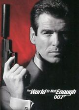 JAMES BOND  THE WORLD IS NOT ENOUGH CARD S1 SHAKEN NOT STIRRED  BY INKWORKS