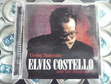 "ELVIS COSTELLO ""GOING STATESIDE"" PRO SOURCED SILVER DISC CD-HOLLYWOOD 1994-HAWK!"