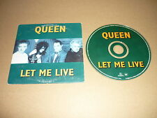 *QUEEN CD SINGLE HOLLAND LET ME LIVE