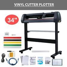 Vinyl Cutter Plotter Cutting 34 Sign Maker Graphics Handicraft Wide Format