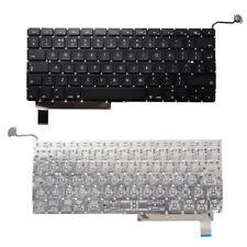 Per Apple Macbook Pro Unibody 15 2009-2012 A1286 Keyboard UK Layout Nero MB985