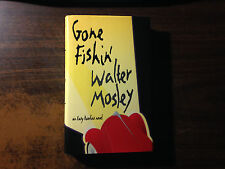 Gone Fishin' Signed by Walter Mosley 1st Hardcover w/ Dust Jacket 1997