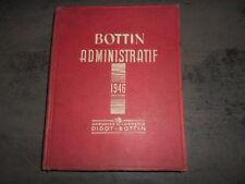 BOTTIN ADMINISTRATIF DE 1946 ANNUAIRE DU COMMERCE DIDOT-BOTTIN