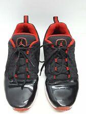 027f71adac8 Nike Air Jordan Low Comfort Fit Mens 9.5 Red Black Patent Sneakers 441364 -001