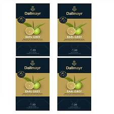 Dallmayr Pyramidentee Earl Grey Bio 4er Pack je 20 Teeportion 2,2g Tee Pyramiden