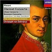 Mozart: Clarinet Concerto; Oboe Concerto; Bassoon Concerto /The Cleveland Orches