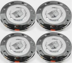 K649 4pcs New For Cadillac Escalade SilveWheel Center Hub Caps 9596649 2007-2014