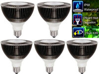 L98IC Grow Bulb PAR38 30W IP68 Veg Herbs High PPFD Lamp 5pc AC90~277V