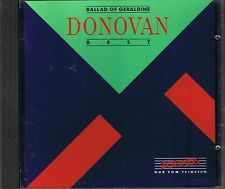 Donovan Ballad Of Geraldine (Best of) Zounds CD RAR