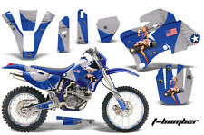 AMR Racing Yamaha WR 250/400/426F # Plate Graphic Kit MX Bike Decal 98-02 TBOMB