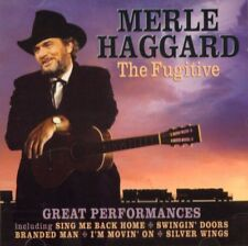 Merle Haggard(CD Album)The Fugitive-Prism Leisure-PLATCD 929-Europe-200-VG