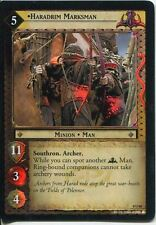 Lord Of The Rings CCG Foil Card SoG 8.U60 Haradrim Marksman