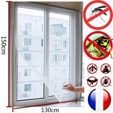 Moustiquaire pour fenêtre / fixation adhésif anti moustique / guêpe / insectes ✋