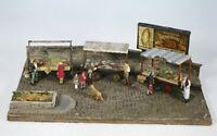 Wills SS37 2 x Market Traders Barrow Stalls - '00' Gauge Plastic Kit - 1st Post