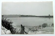 OLD RPPC POSTCARD OF THE POWER HOUSE PLANT AND DAM KEOKUK IOWA REAL PHOTO