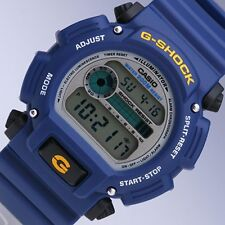 CASIO MEN'S BLUE RESIN BAND CLASSIC DIGITAL GSHOCK DW9052-2V
