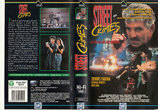 Street Crimes. La legge del Kickboxing (1992) VHS