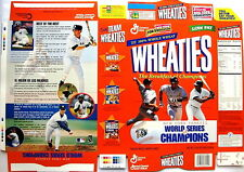 1998 Yankees Champs s47a Wheaties Cereal Box unused factory Flat bp39