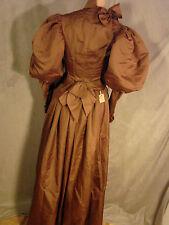 Vintage Edwardian Skirt Bodice Set MATERNITY Antique MUTTON SLEEVES xxs Dress
