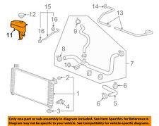 GM OEM-Radiator Coolant Overflow Tank Reservoir Recovery Bottle 22856231
