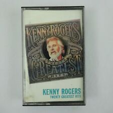Kenny Rogers Cassette 20 Greatest Hits