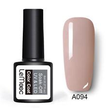 8ml LEMOOC Nail UV Gel Polish Soak off Nude Pink Series Nail Art UV/LED Gel