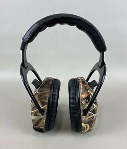 ProEars Pro Mag Gold Series Electronic Camo Ear Muffs Hearing Protection, CLEAN
