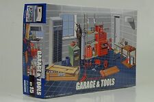 Werkstatt + Werkzeuge Zubehör Diorama Kit Bausatz 1:24 Fujimi GT15