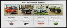 GB 2013 British Automobile Legends Mini Sheet MNH