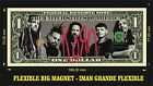 KORN IMAN BILLETE 1 DOLLAR BILL MAGNET