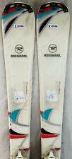 14-15 Rossignol Unique Used Women's Demo Skis w/Binding Size 142cm #230398