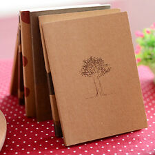 Cute Retro Handmade Journal Memo Dream Notebook Paper Notepad Blank Pocket Diary
