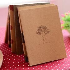 Retro Handmade Journal Memo Dream Notebook Paper Notepad Cute Blank Pocket Diary