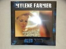 """2 LP 33T MYLENE FARMER """"Bleu noir"""" POLYDOR FRANCE Neuf et emballe §"""