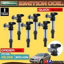 6x For Holden Commodore VZ Statesman WL Colorado RC V6 3.6L  Ignition Coils