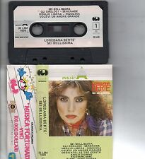 LOREDANA BERTE musicassetta originale MC MC7 K7 SEI BELLISSIMA serie MusicA 1983