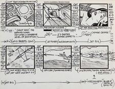 (2) Alex Toth Storyboard Production Drawings for Super Friends