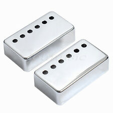 2 Pcs Humbucker Pickup Cover For GB Ep Guitar Cuboid Replacement 50mm Pole Space