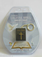 DIGITAL BIBLE USB - KEY CHAIN ENGLISH /SPANISH