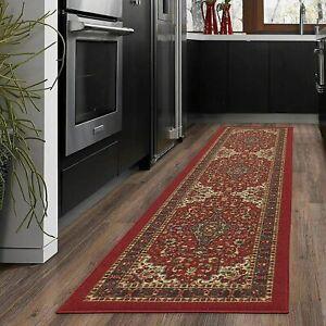 """Kitchen Runner Rug Area Floor Mat Carpet Hallway Runner Rug Non Slip 20"""" X 59"""""""