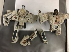 TRANFORMERS FOR PARTS VINTAGE 2 TOTAL THAT ARE MISSING SOME PARTS