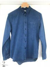 Folk clothing Mens denim shirt, Size 3 (medium)