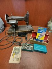 Vintage Cast Iron Kenmore E-6354 Sewing Machine Excellent Working Condition