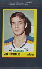1973/74 Topps #121 Mike Robitaille Sabres NM *341